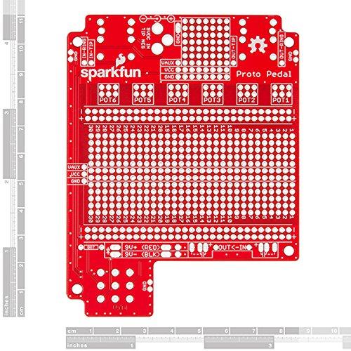 SparkFun (PID 13124 + 13967) Proto Pedal with aluminum enclosure