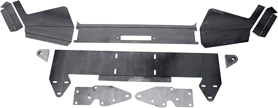 DIY Rear Bumper Bare Metal for 1984-2001 Jeep Cherokee XJ