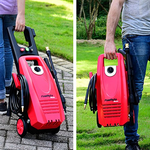 PowRyte 2000PSI 1.8GPM Electric Pressure Washer with 3 Quick-Connect Spray Tips, Onboard Detergent Tank by PowRyte (Image #4)