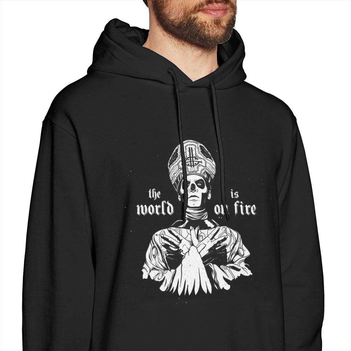 Lemonationob Cool Ghost Bc Soft Mens Hoodie Without Pocket