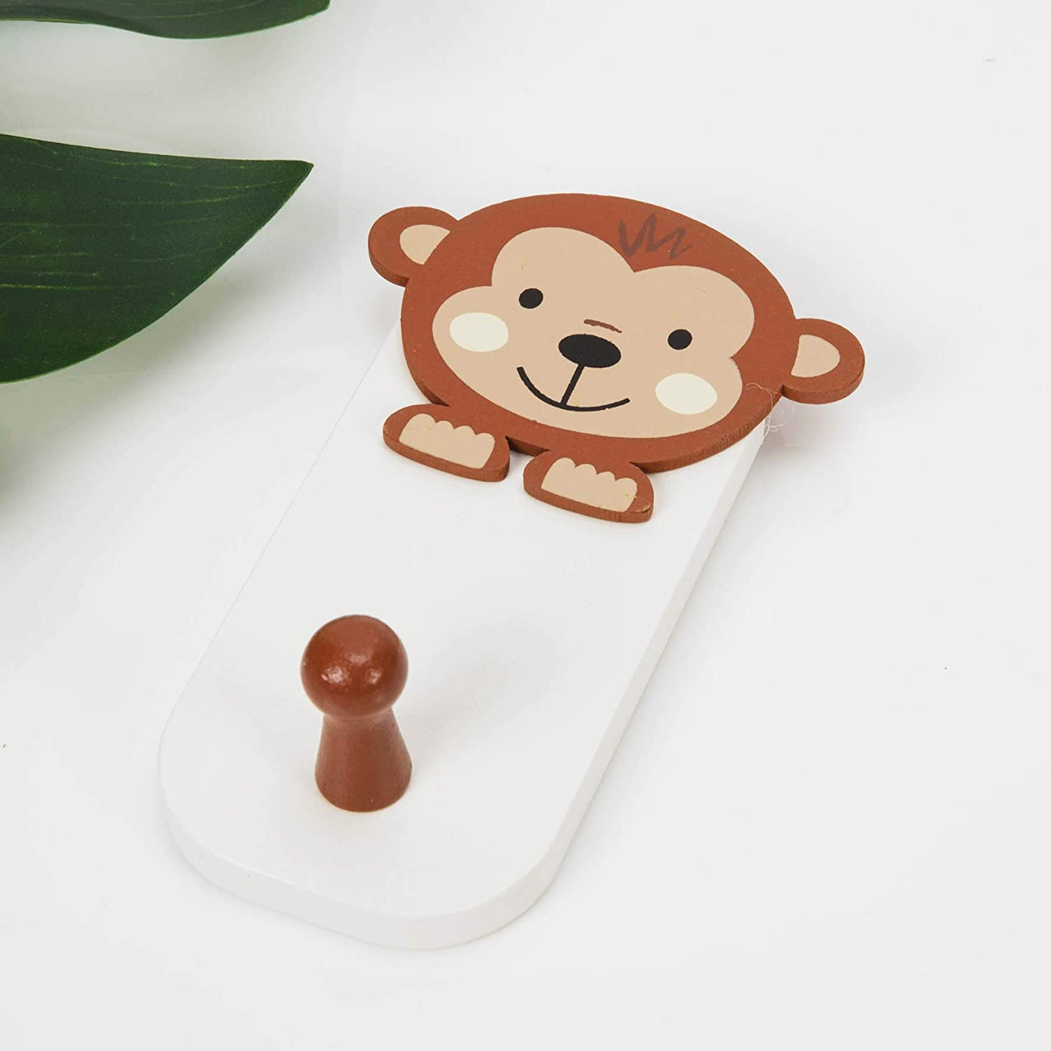 Jungle Baby Chester the Monkey Wall Hook