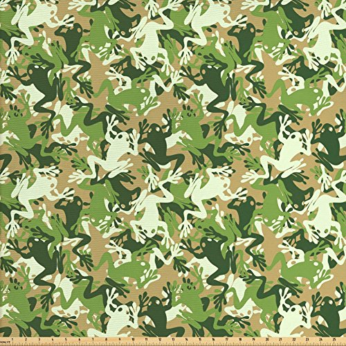 Frog Fabric By The Yard Kritters In The Mailbox Frog