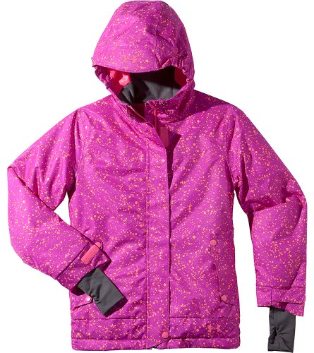 Under Armour Big Girls' ColdGear Infrared Fader Jacket Youth Large STROBE by Under Armour