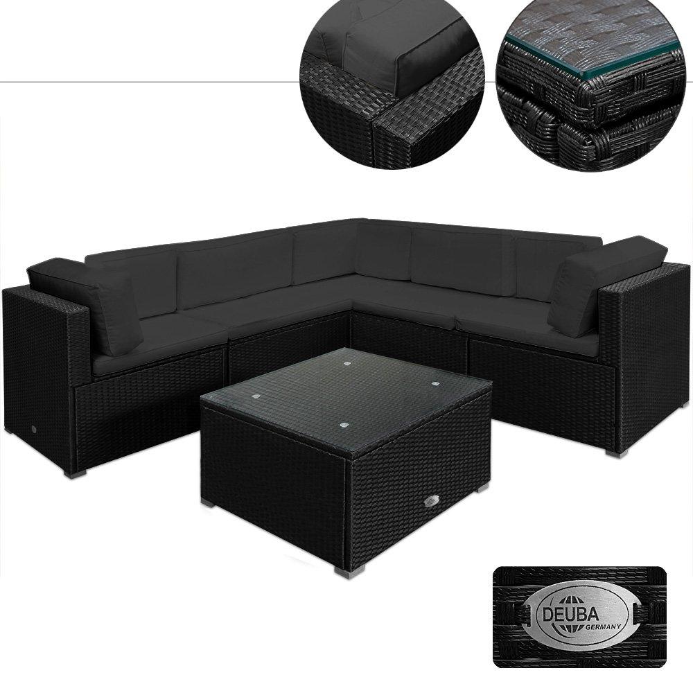 20tlg medium rattan lounge set xxl r ckenkissen gartenm bel gartenset sitzgruppe sitzgarnitur. Black Bedroom Furniture Sets. Home Design Ideas