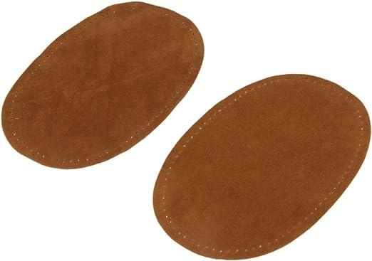 Queenbox® - Coderas y Rodilleras de Ante ovaladas para Coser ...