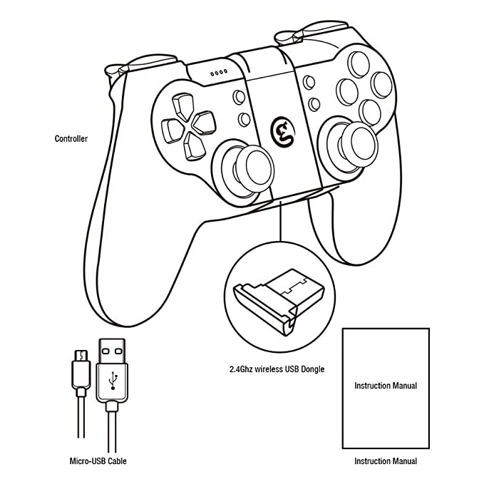 Amazon Com Celiy Game Sir T1 Remote Controller Gamepad For Dji