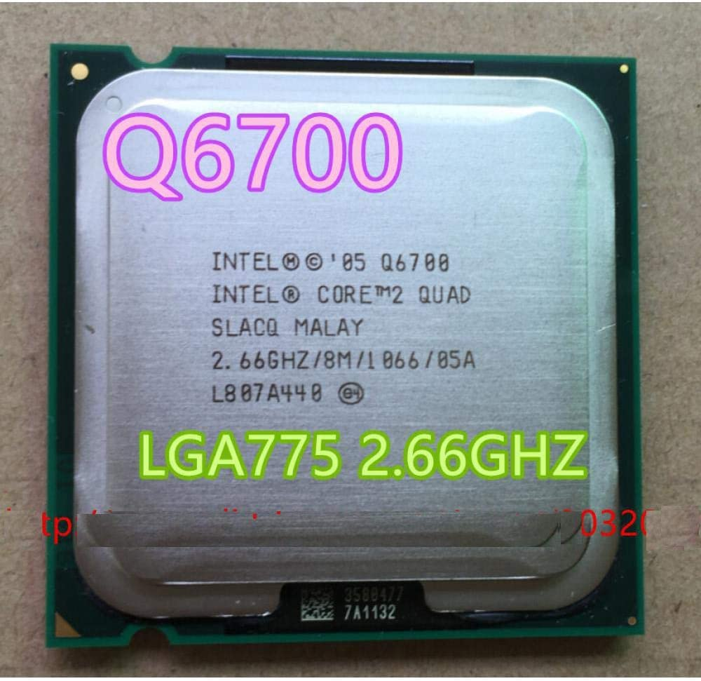 Intel Core 2 Quad Q6700 Q6700 CPU Processor 2.66Ghz// 8M //1066GHz Socket 775 Can Work