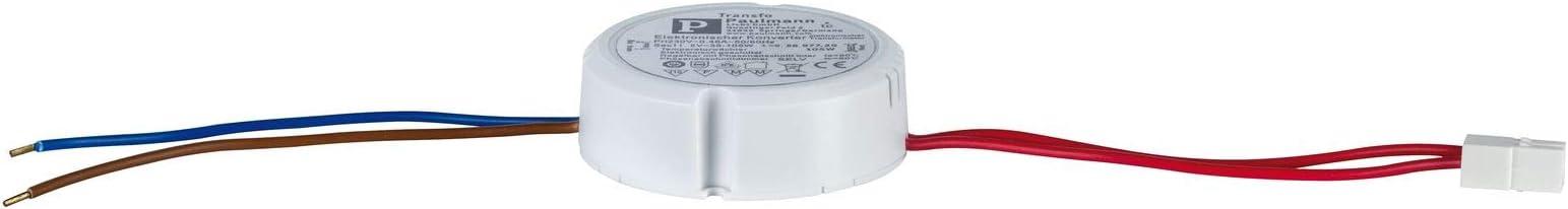 Paulmann 971.16 Seil Trafo Transformator 230V 50Hz 12V 105VA MAX105W Schalter