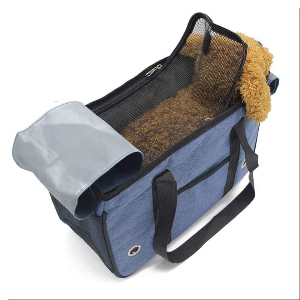 CWCD Tragbare Hundetasche, Reise Atmungsaktiv Haustier Seat Dog Bag 3 Grö ß en 4 Farben (Farbe : A) Lvab