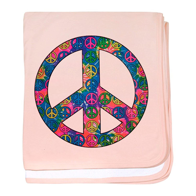 Amazon Royal Lion Baby Blanket Peace Symbols Inside Tye Dye