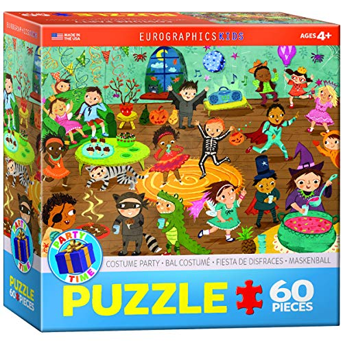 Party Time Costume 60 Piece Puzzle