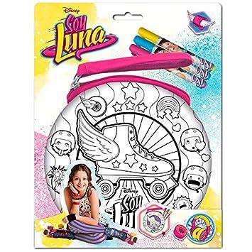 Taldec Sl16350 F Saco A Para Colorear Soy Luna Amazon