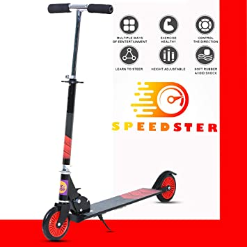 Baybee Speedster 2 Wheel Folding Kick Kids Scooty Scooter Tricycle for Indoor & Outdoor…