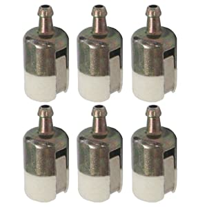 HIPA 125-527 Fuel Filter 13120507320 13120519830 for Echo String Trimmer/Edger/Backpack Blower (Pack of 6)