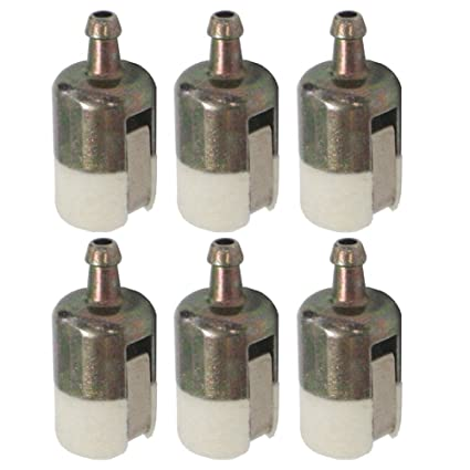 hipa 125 527 fuel filter 13120507320 13120519830 for echo string trimmer edger backpack blower (pack of 6) Dixie Chopper Fuel Filter