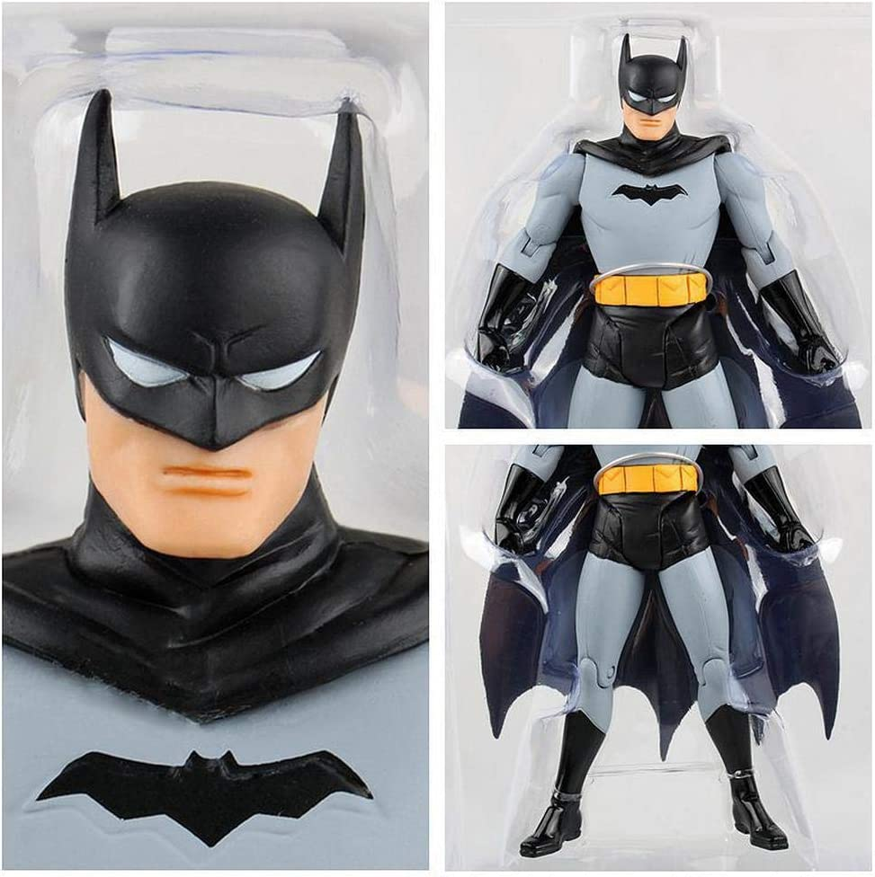 CHANG Modelo De Juguetes De DC First Generation Batman Character para Niños Batimóvil,OneSize