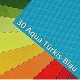 OXFORD 600D Couleur 30  Bleu turquoise Aqua Citrons Polyester Tissu 1 lfm EXTÉRIEUR imperméable extrèmement Résistant à la déchirure robuste PVC Marchandise au mètre Bâche Tente Sac à dos Sac