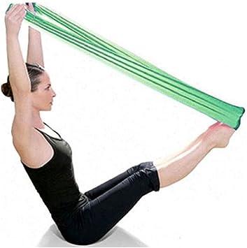 Lookatool Pilates Yoga Workout Aerobics Stretch Band Tensile Band Elastic Band