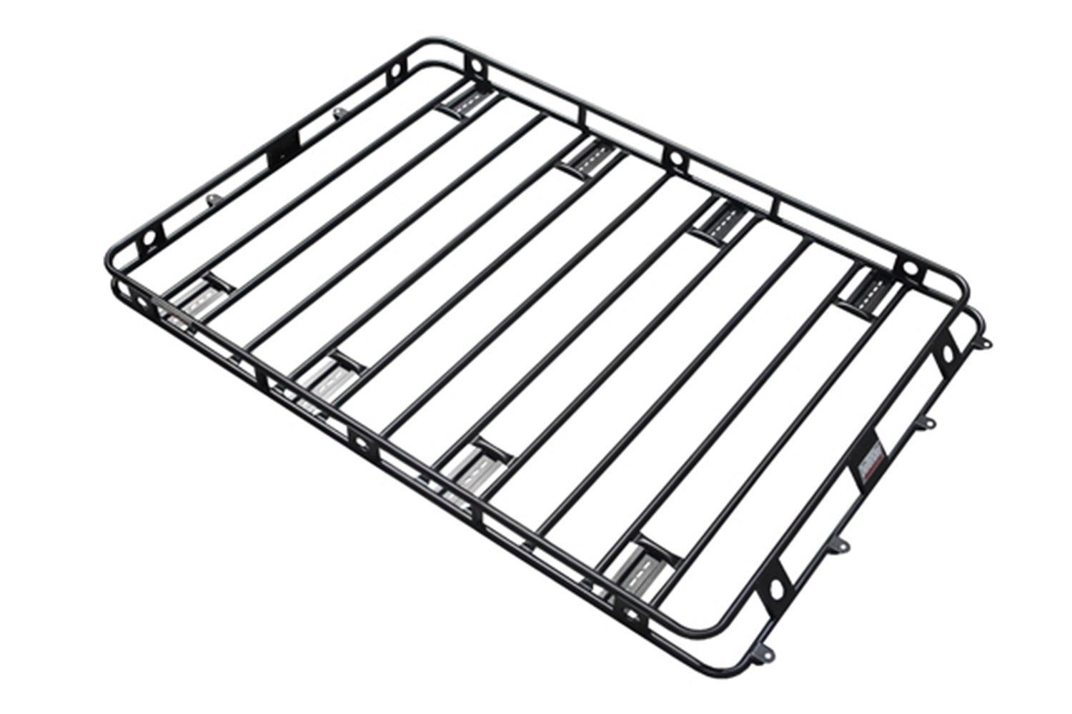 Smittybilt 50125AM Defender Roof Rack 5 ft. x 12 ft. x 4 in. Bolt Together Incl. AM Clamps/Brackets Defender Roof Rack