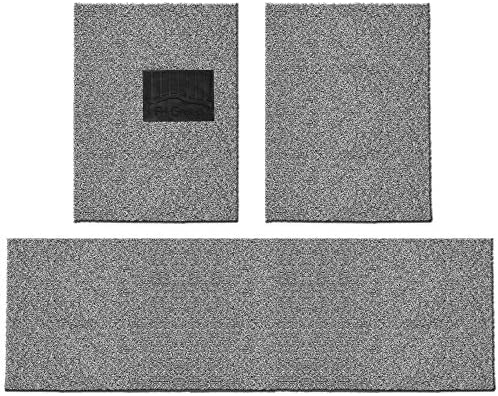 FH Group FH12021 Universal Waterproof Car Floor Mats, Trim to Custom fit All-Season Heavy-Duty Durable Thick, Soft, Comfortable and Easy Clean