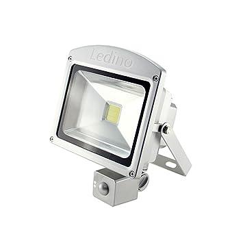Ledino Foco proyector LED, Sensor de movimiento, 20W