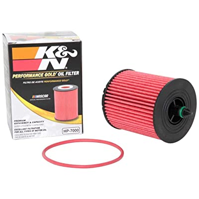 K&N Premium Oil Filter: Designed to Protect your Engine: Fits Select BUICK/CHEVROLET/POLARIS/SAAB Vehicle Models (See Product Description for Full List of Compatible Vehicles), HP-7000: Automotive