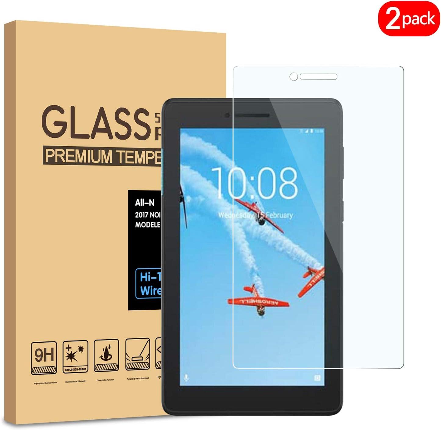 Protector, vidrio templado de dureza 9H, Lenovo Tab E7