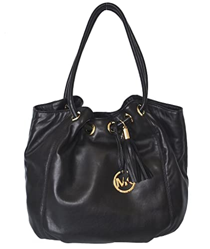 4e25bed3f065 Amazon.com: Michael Kors Leather LG Ring Tote Shoulder Bag: Shoes
