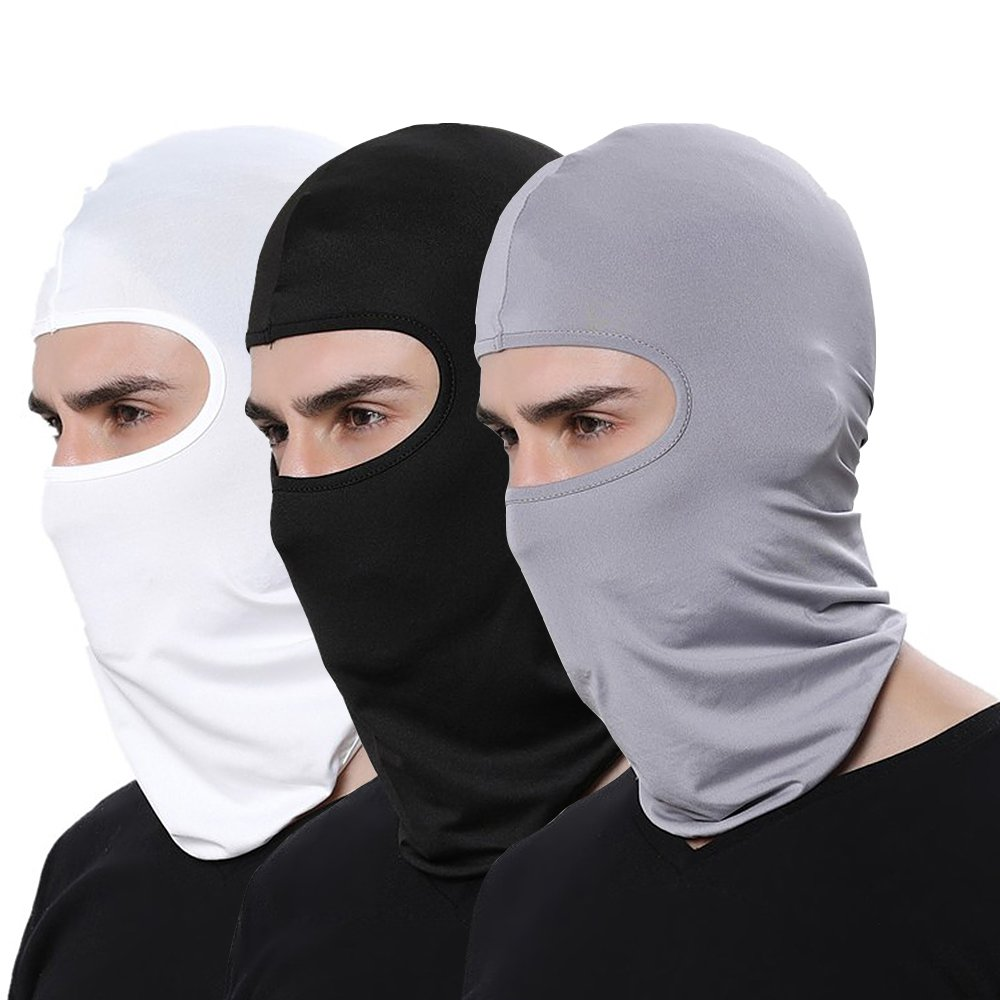 WHITE Eye Open Chiefs Tactical Airsoft Full Face Mask protective Dust-proof Windproof Face Mask