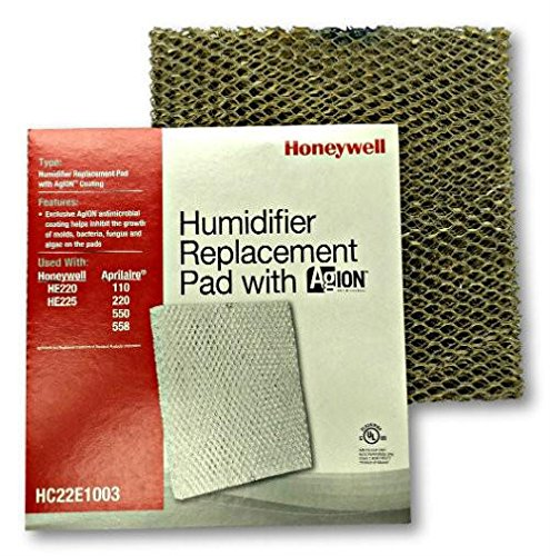 Honeywell HC22E1003 HE225 Humidifier Pad with Agion (Honeywell He220a Humidifier)