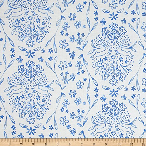 Michael Miller Sommer Sundborn Blueberry Fabric by for sale  Delivered anywhere in USA