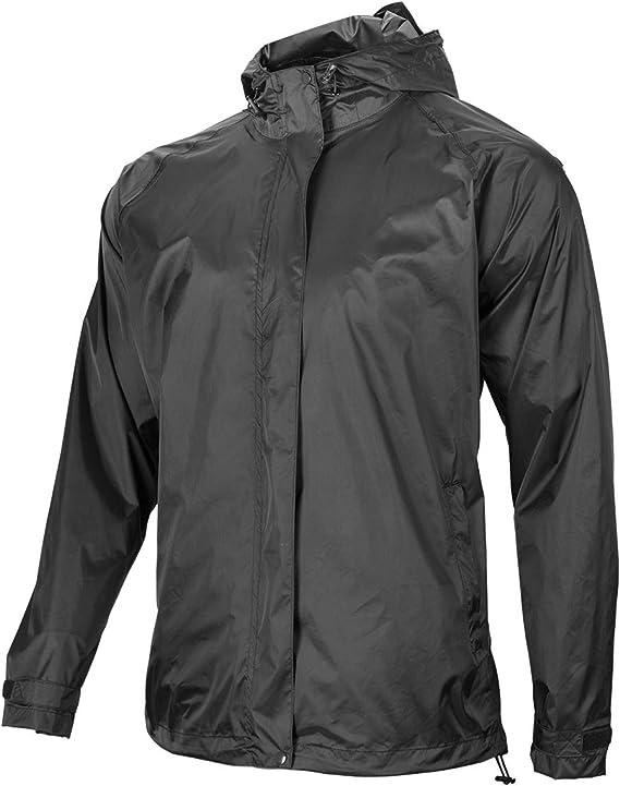 ROCK BROS Men's Waterproof Cycling Jacket Windproof Raincoat for Bike Running