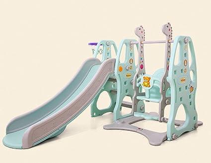 Thole Toboganes Infantil Toboganes y Columpios Juguetes Niños Diapositiva para Interior/Exterior/Parque/Jardín,Blue: Amazon.es: Deportes y aire libre