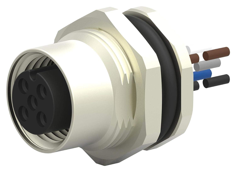 7.9\ inch Sensor Cord T4171110005-001 5P M12 RCPT-Free END TE CONNECTIVITY