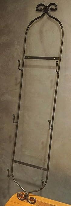 Amazon.com: Longaberger Wrought Iron 3 Tier Wall Hanging Plate Rack ...