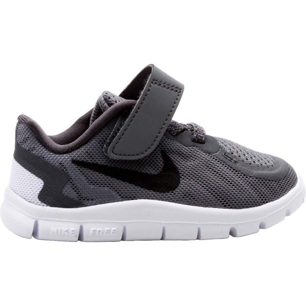 4a8eef3a33c55 Nike Toddler Boy's Free 5.0 Running Shoe Dark Grey/Wolf Grey/Cool  Grey/Black 10