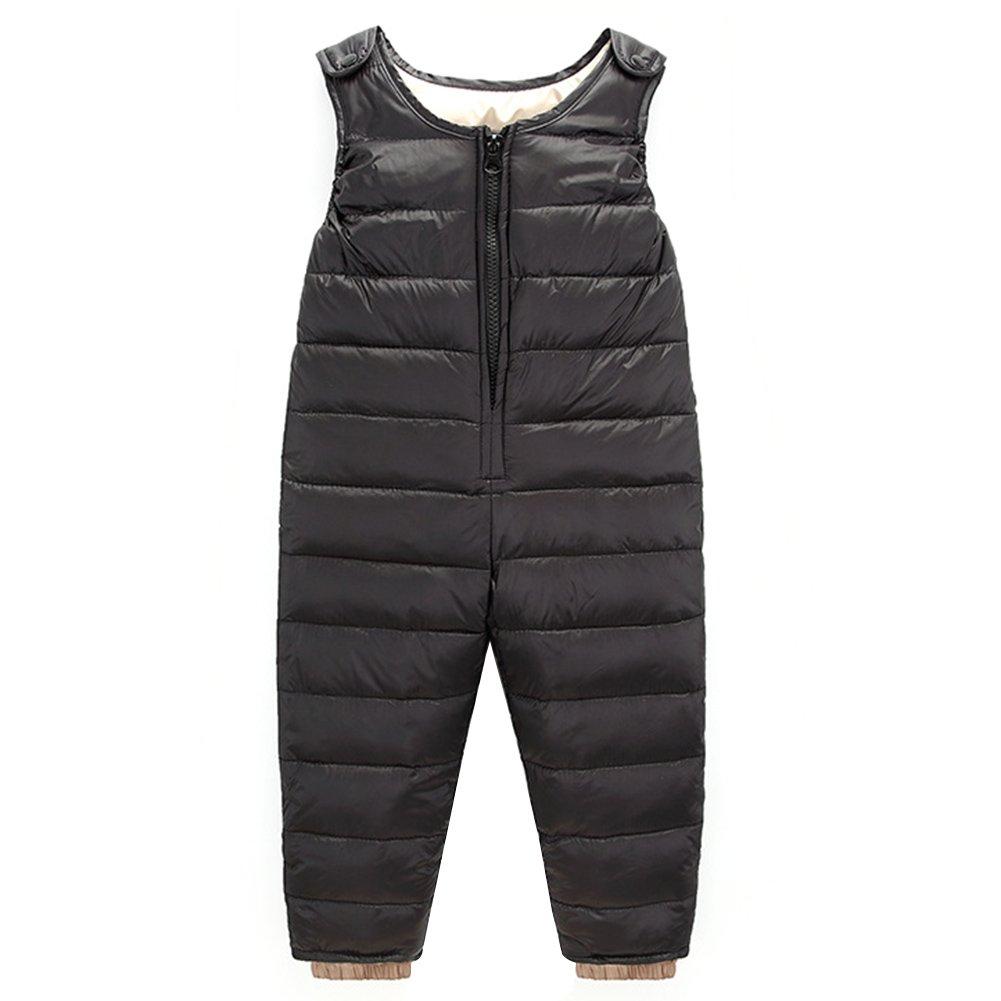 Baby Boy Girl One Piece Warm Sleeveless Snowsuit Romper Jumpsuit LZ-TZ-453