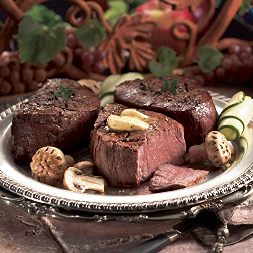 The Swiss Colony Filet Mignon 8 4-oz. Steaks, 4-oz. Butter