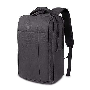 26364da057131 REYLEO Business Rucksack Herren und Damen Laptop Backpack für Reise oder  Arbeit Wasserabweisend Dunkelgrau RB11