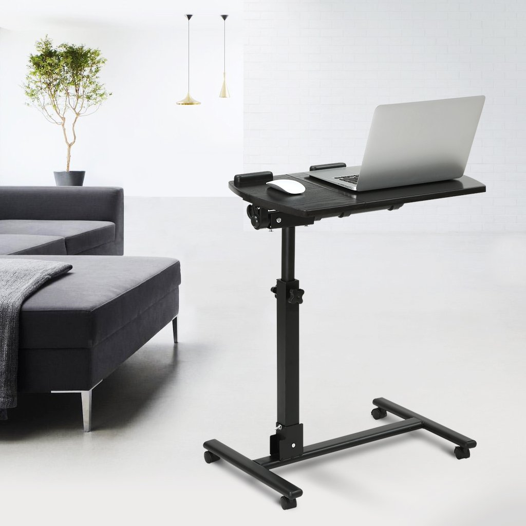 Laptop Chair Desk Langria Portable Laptop Stand Desk Cart With Mouse Board