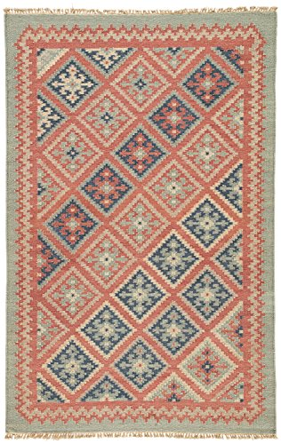 Jaipur Living Ottoman Reversible Flatweave Tribal Red Area Rug (2' X ()