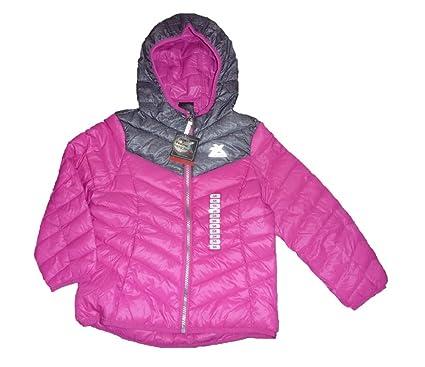 eb92c3f68464 Amazon.com  ZeroXposur Girls Feather Hooded Puffer Jacket  Clothing