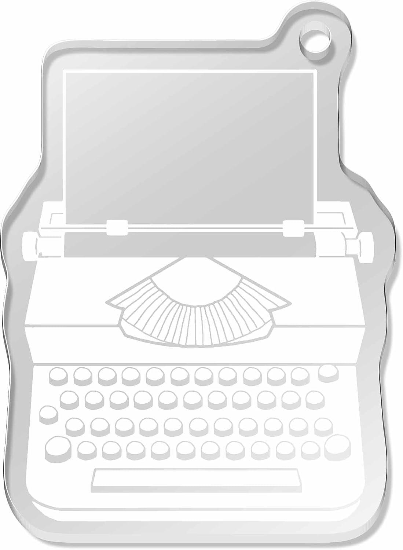 Azeeda Máquina de Escribir Llavero Grande (AK00010288): Amazon.es: Juguetes y juegos