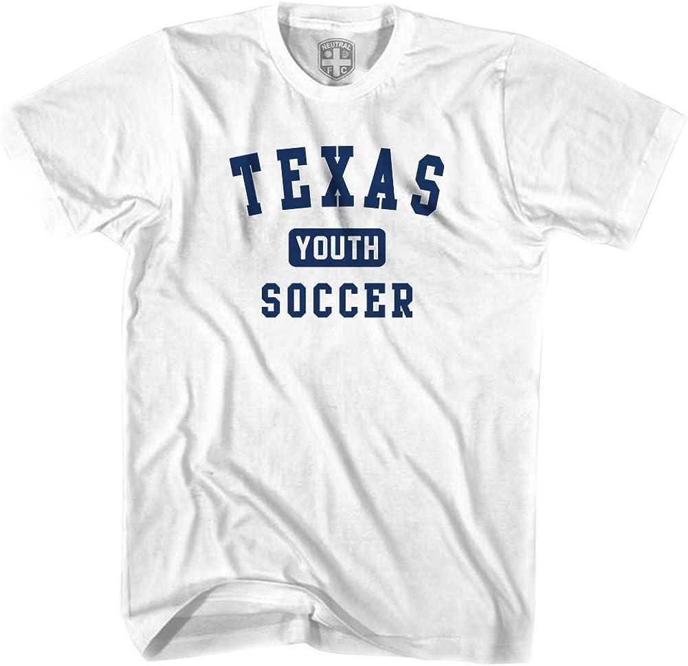 Texas juventud camiseta de fútbol gris gris XL: Amazon.es: Ropa y accesorios