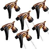 "Black & Gold Acid Resistant Trigger Sprayer (6 Pack) 9-1/4"" Tube"