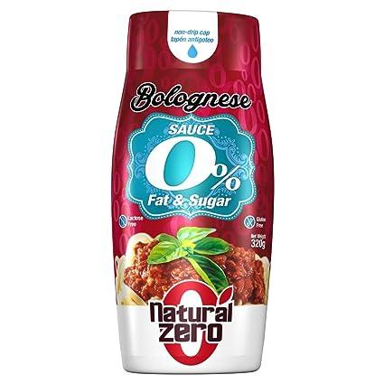 Natural Zero Salsa Bolognese 320 gr
