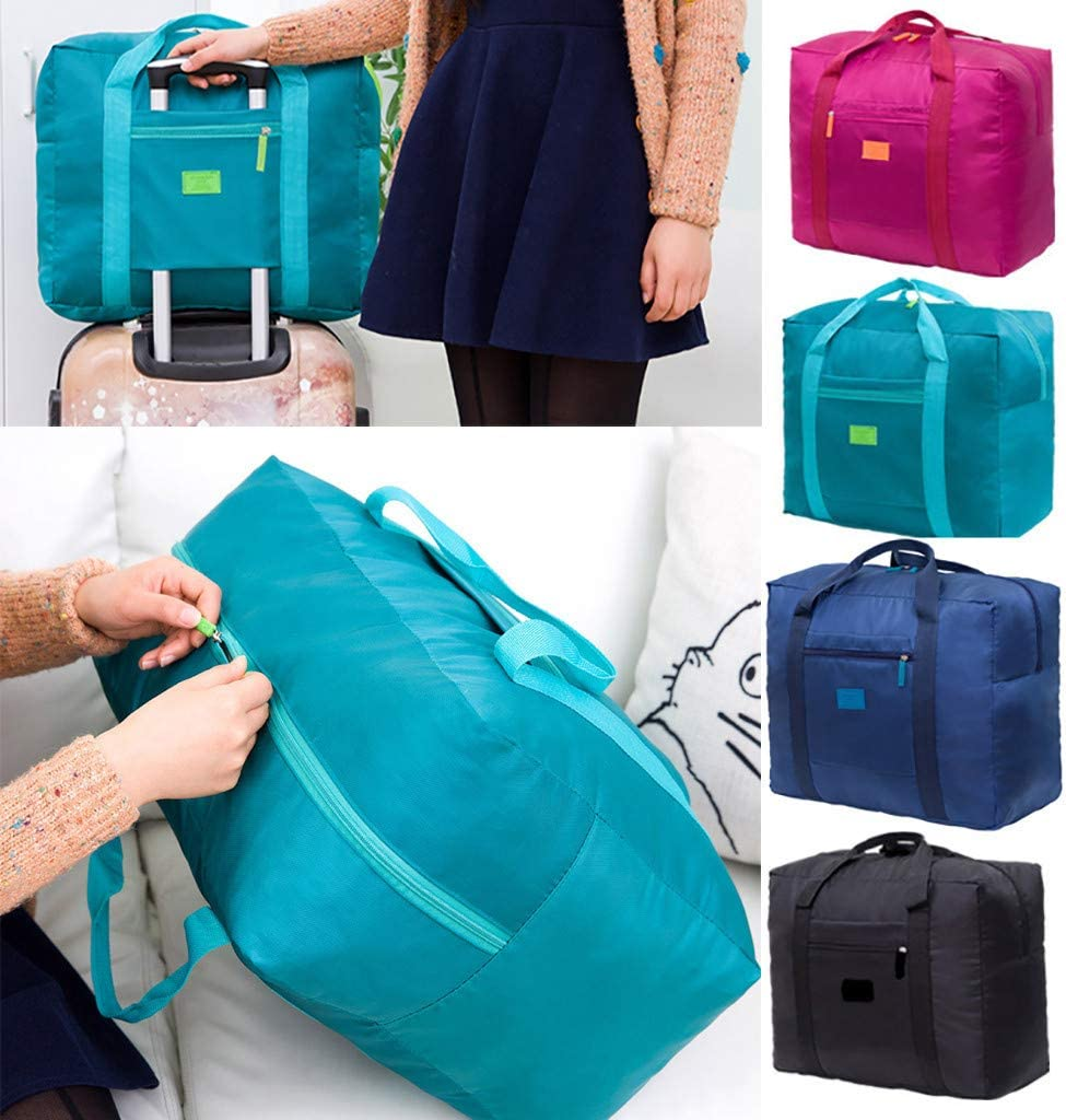 Yinpinxinmao Waterproof Travel Luggage Duffel Bag Foldable Clothes Large Capacity Storage