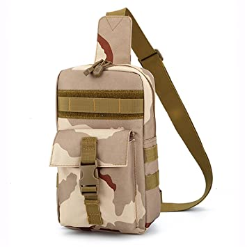 22a57e011 Bolsa de Pecho de los Hombres Mochila al Aire Libre Bolsas de Deporte  Militar Mochila de ...