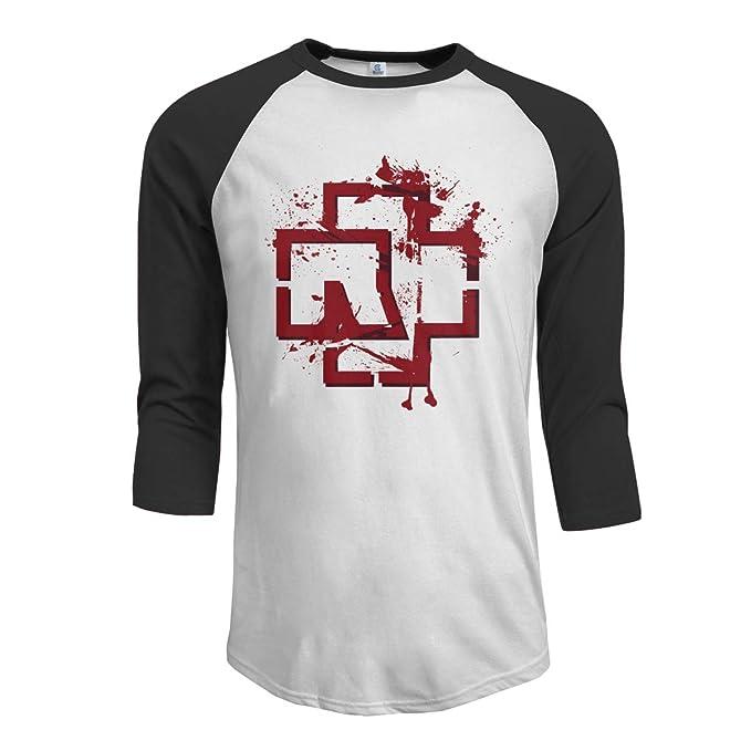 Men's Raglan T-Shirt Rammstein Vintage Band