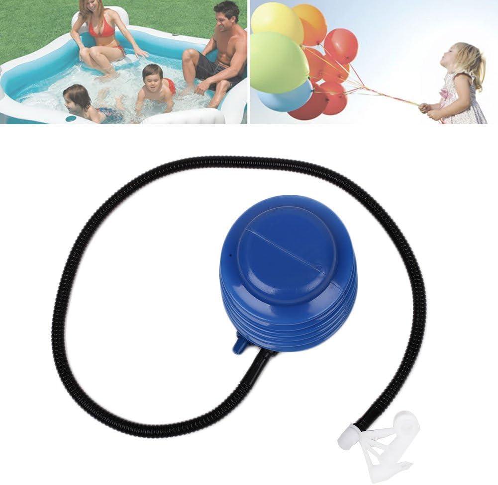 Forfar Pompe /à air portative 5 en 1 Ballon de remise en forme de piscine de natation /à p/édale Inflateur bleu gonflable dABS de jouet